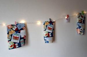 Adventskalender Geschenke verpacken