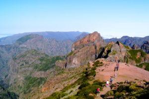 Sehenswuerdigkeit Pico Arieiro bei der Madeira Ost Tour