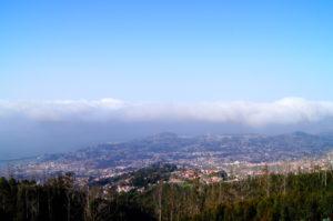 Vom Stadtteil Monte hast du einen tollen Blick auf Funchal