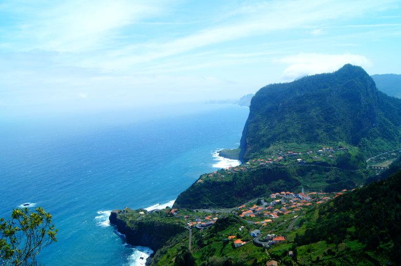 Toller Blick auf Miradouro do Guindaste in Faial Madeira Ost Tour