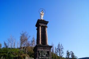 Aussicht auf Funchal in Monte am Terreiro da Luta Denkmal